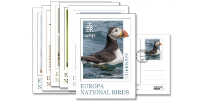 FDI Europa Birds Postcard Set of 6