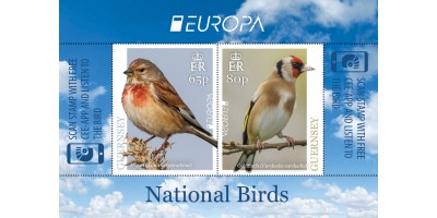 Europa Sheet (65p and 80p)
