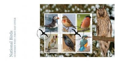 Maxi Europa Birds Postcards Set of 6