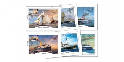 Maxi Mail Ships Postcards Set of 6
