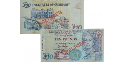 £10 B. Haines signatory Guernsey Bank Note (G Prefix)