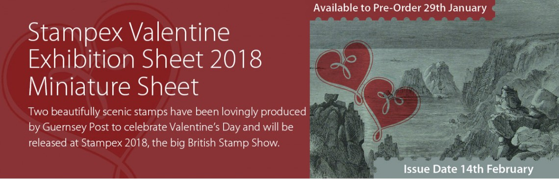 Stampex Valentine Exhibition Sheet