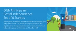 50th Anniversary - Postal Independence