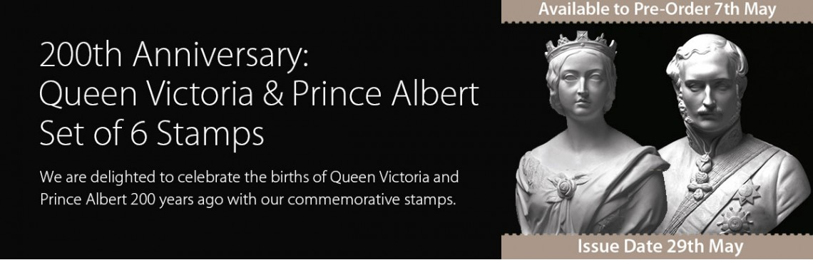 200th Anniversary: Queen Victoria and Prince Albert