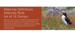 Alderney Definitives: Alderney Birds