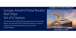 Europa: Ancient Postal Routes: Mail Ships