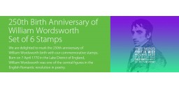 250th Birth Anniversary of William Wordsworth