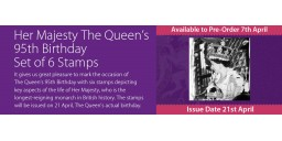 Her Majesty The Queen's 95th Birthday