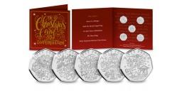The 2020 Christmas Carol 50p Coin Collection