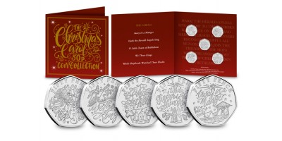 The 2020 Christmas Carol 50p Coin Collection