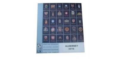 Alderney 2016 Luxury Hingeless Supplement