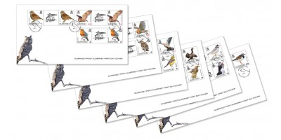 First Day Cover Gutter Pairs x 6