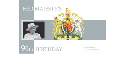 Her Majesty The Queen's 90th Birthday Prestige Booklet