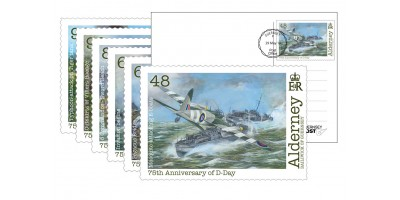 FDI D-Day Postcard set of 6