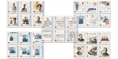 Five year Series (Stamps) -Stories from the Great War