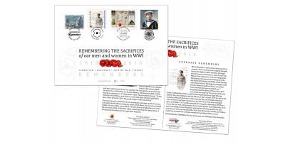 WW1 Centenary Joint First Day Cover