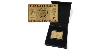 50th Anniversary Philatelic Independence Gold Replica Stamp