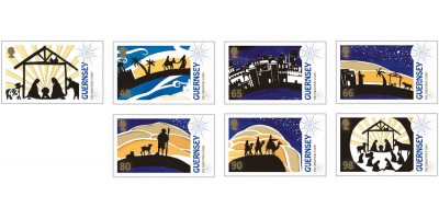 Set of 7 Stamps