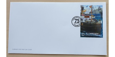 75th Anniversary of Alderney's Homecoming First Day Cover