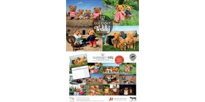 The Best of Guernsey Teddy Calendar  2022