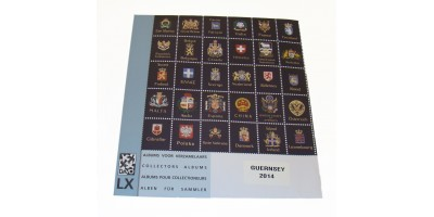 Guernsey 2014 Luxury Hingeless Supplement