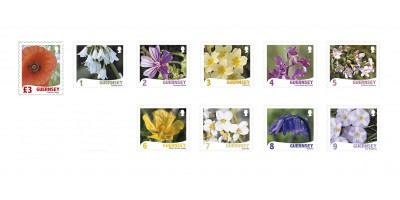 Set of 10 stamps 1,2,3,4,5,6,7,8,9, £3