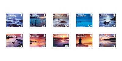10 Self Stick Stamps