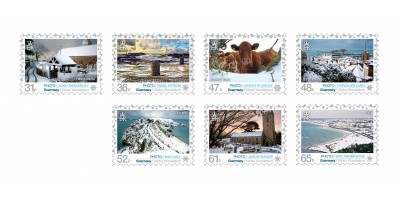 Set of Seven Stamps