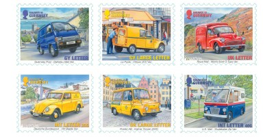 Set of Six Stamps