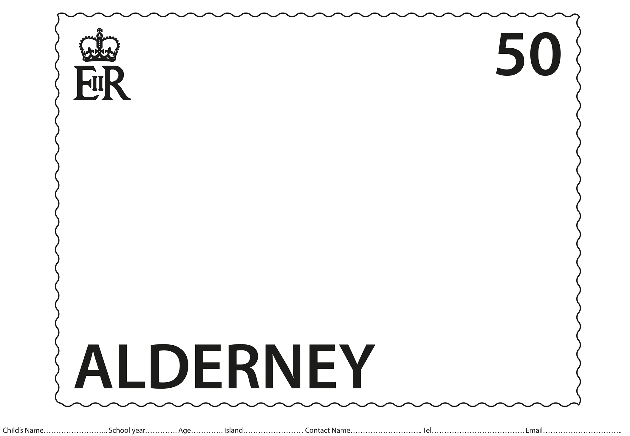 Local children invited to put their stamp on #AlderneySpirit charity competition