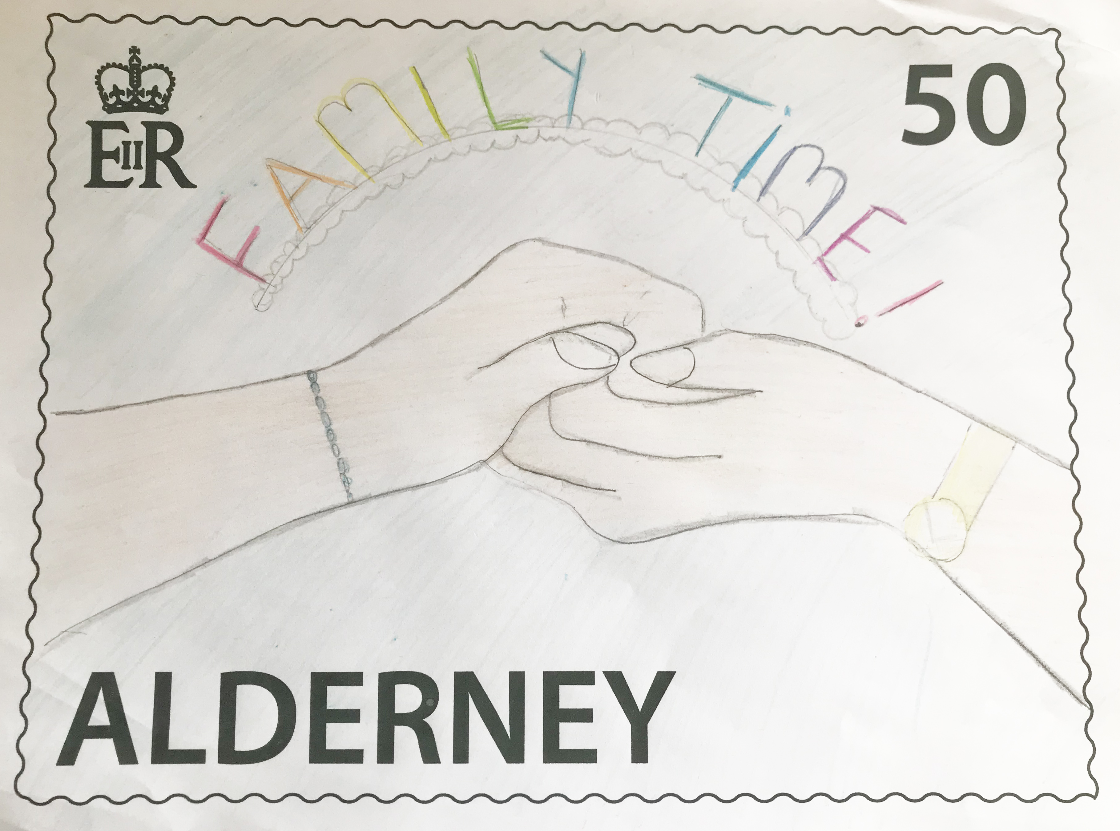School children's designs chosen for AlderneySpirit stamp competition