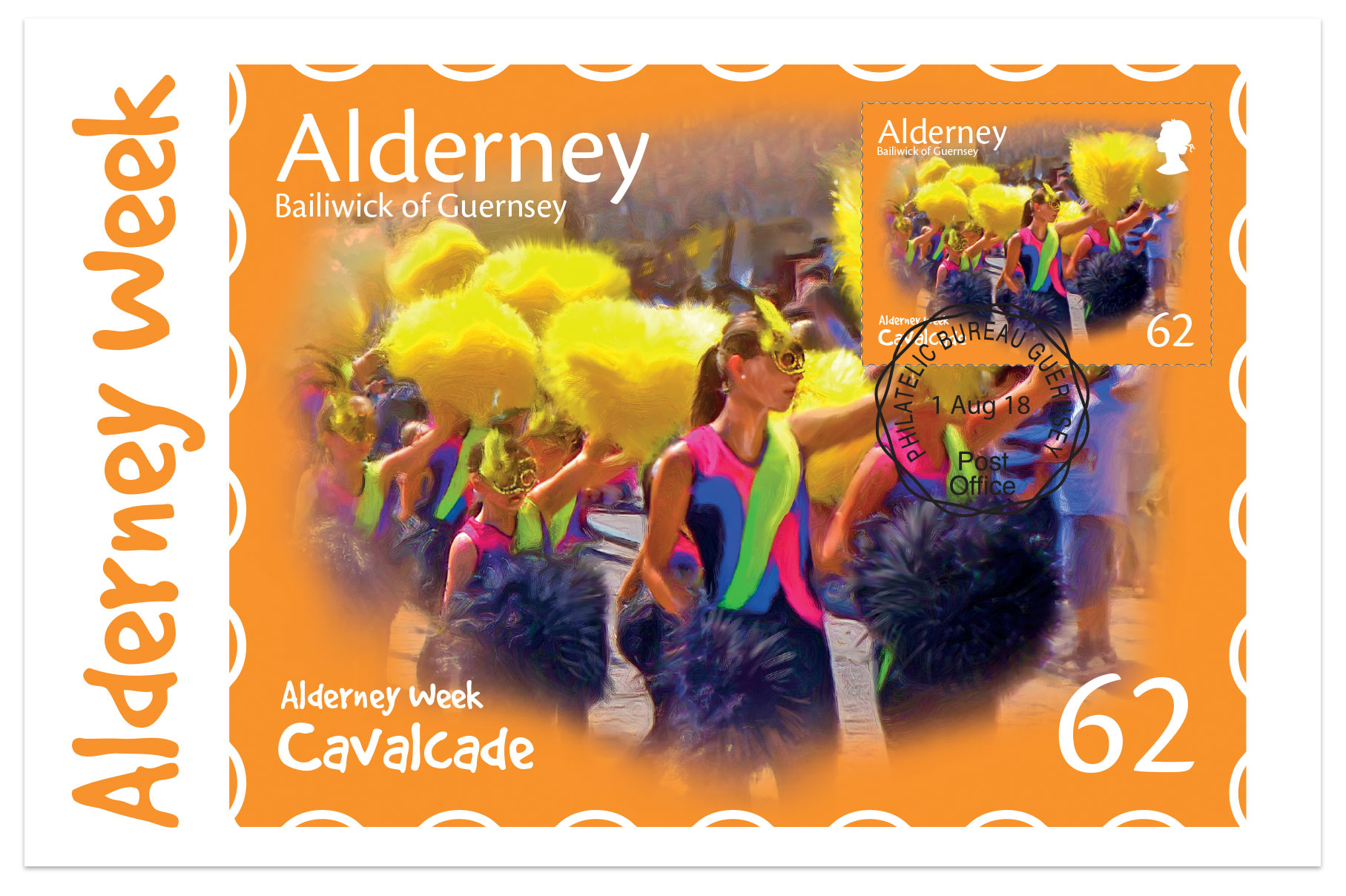 Alderney Week Maxi Cards