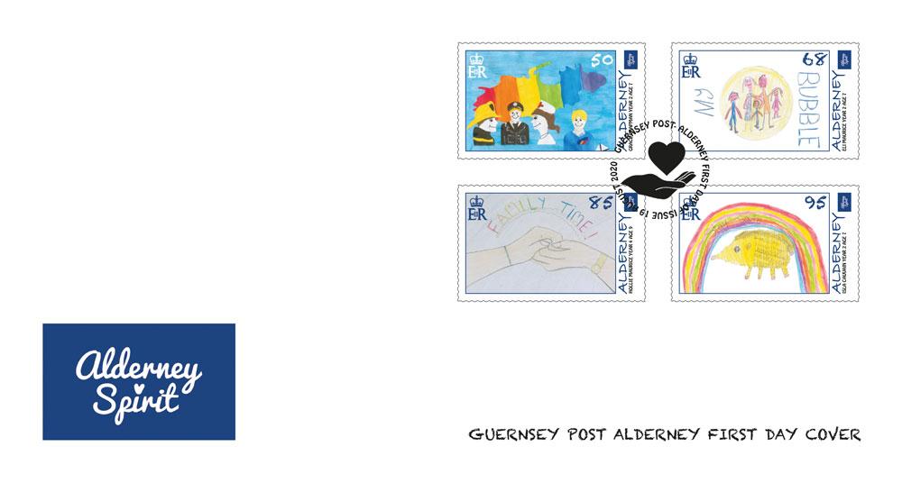 奥尔德尼岛8月19日发行奥尔德尼精神邮票