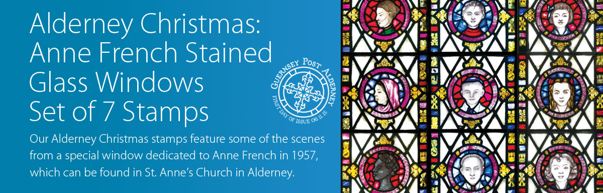 Alderney Anne French Stained Glass Windows