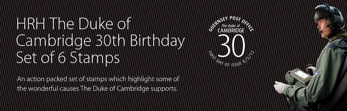 HRH The Duke of Cambridge 30th Birthday