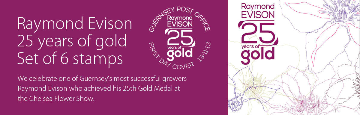 Raymond Evison 25 years of gold