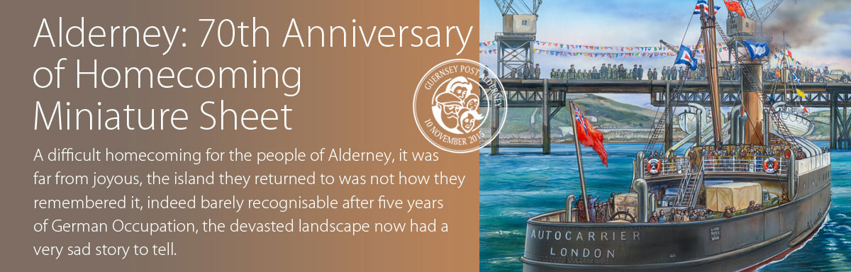 Alderney 70th Anniversary of Homecoming