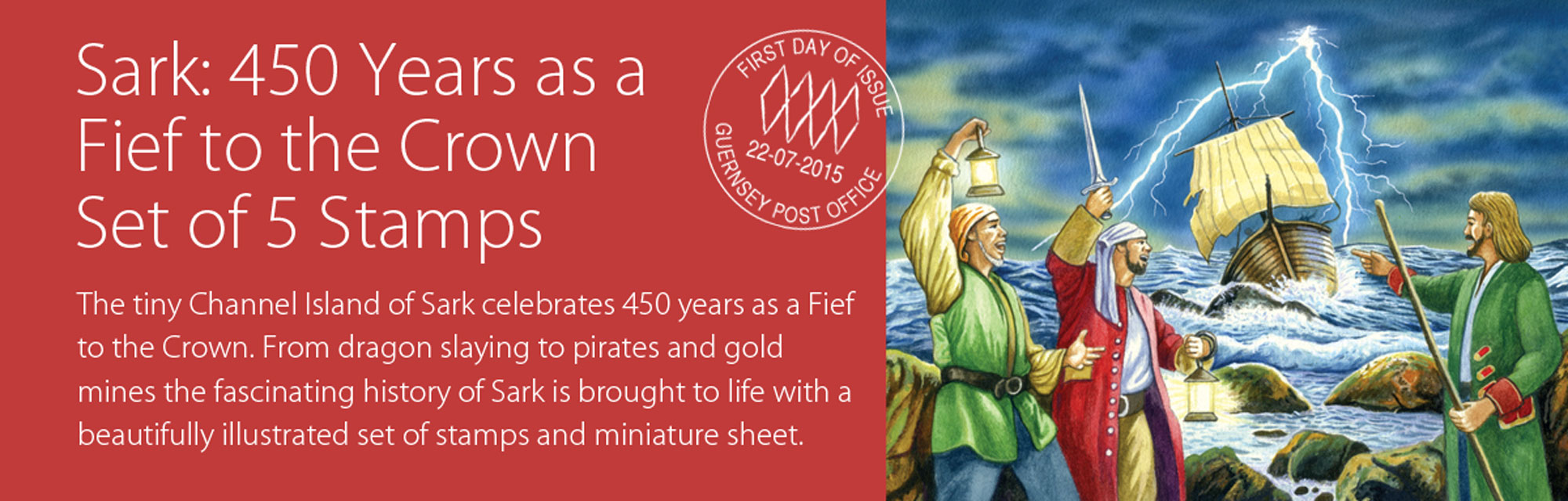 Sark 450 Years as a Fief to the Crown