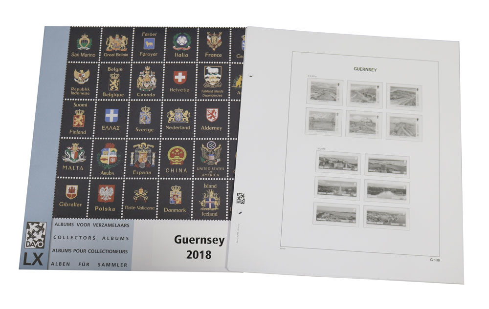 Guernsey 2018 Luxury Hingeless Supplement