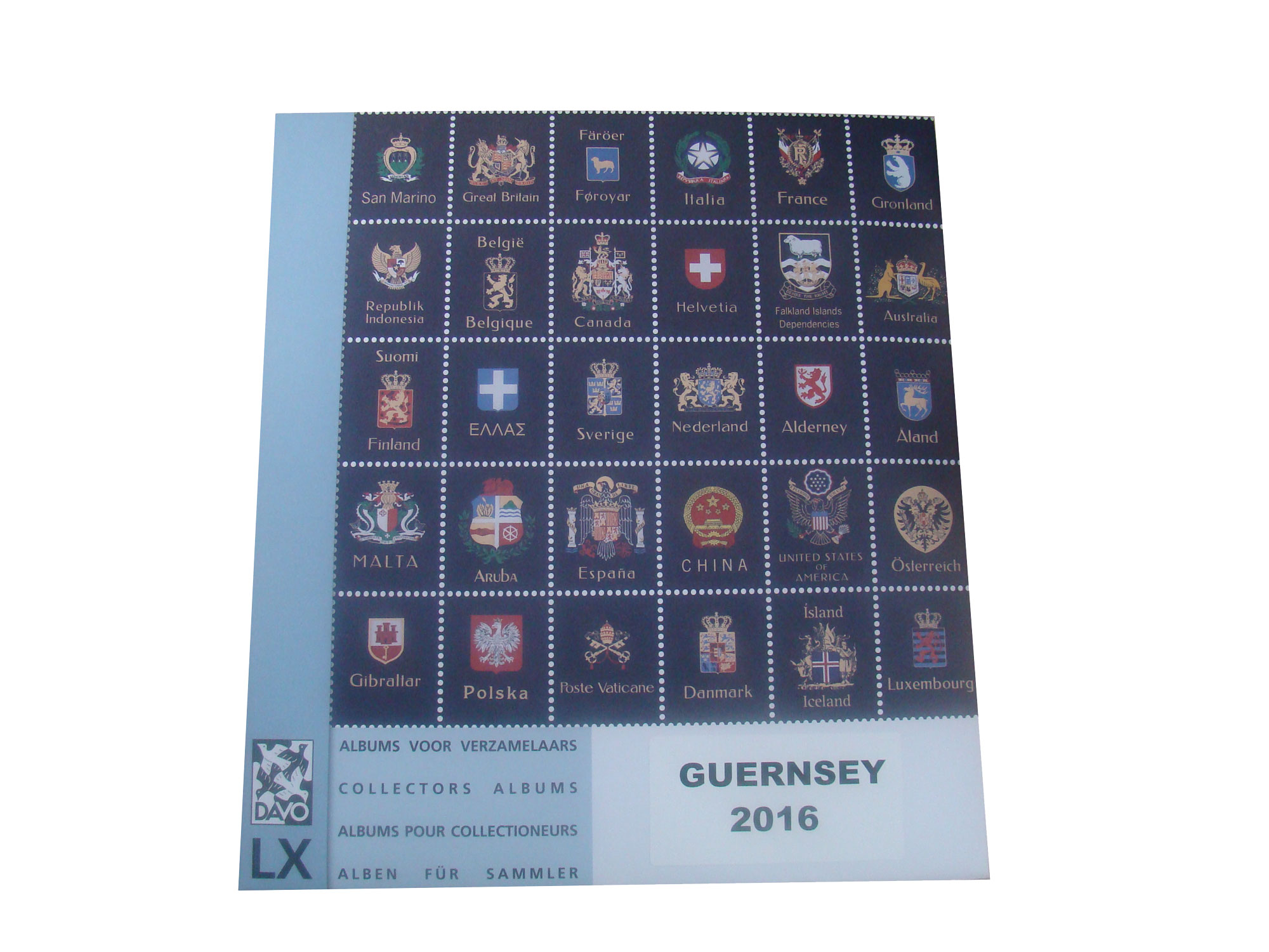 Guernsey 2016 Luxury Hingeless Supplement