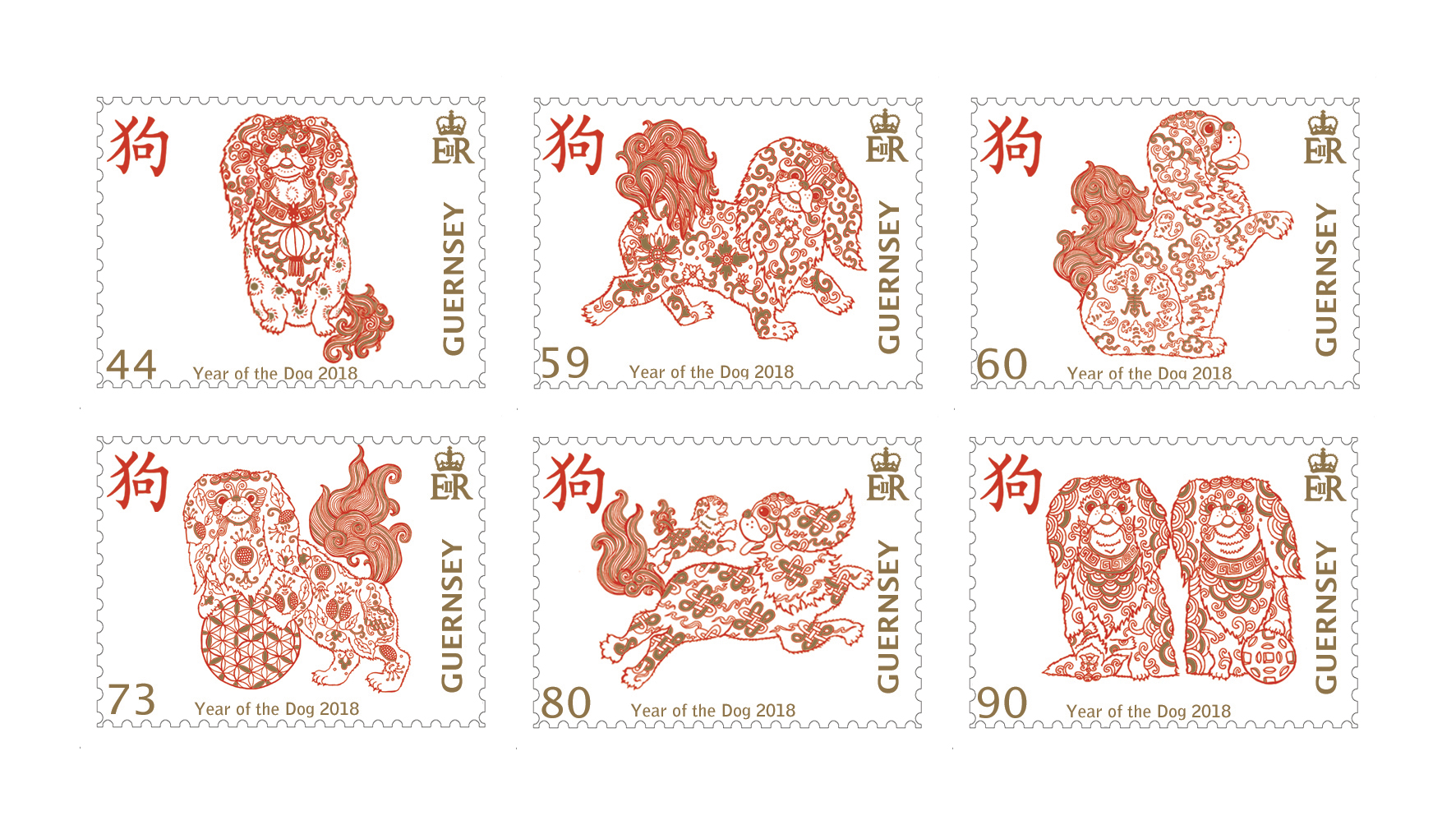Guernsey Post celebrates Chines New Year with fifth stamp issue