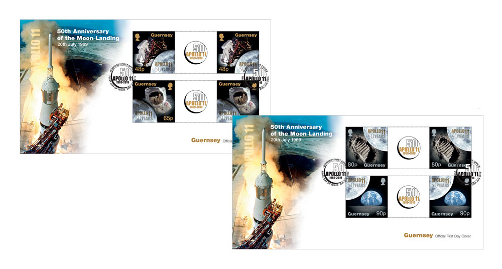 First Day Cover Gutter Pairs