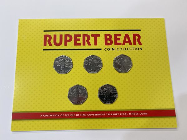Rupert Bear 50p Coin Set