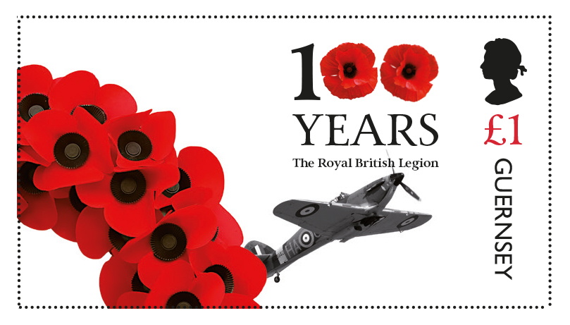 Guernsey releases second stamp in series commemorating 100th Anniversary of The Royal British Legion