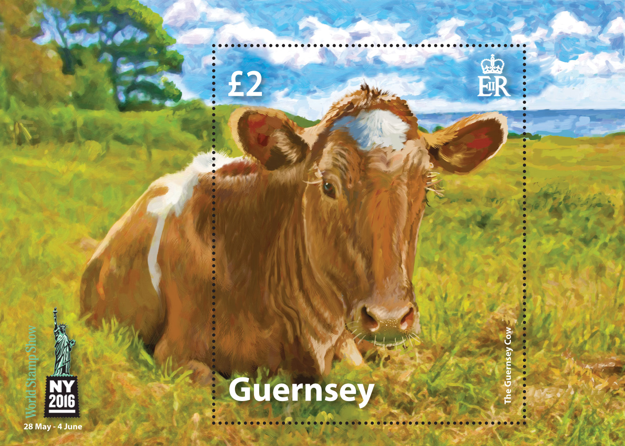 Guernsey Stamps attend World Stamp Show NY2016