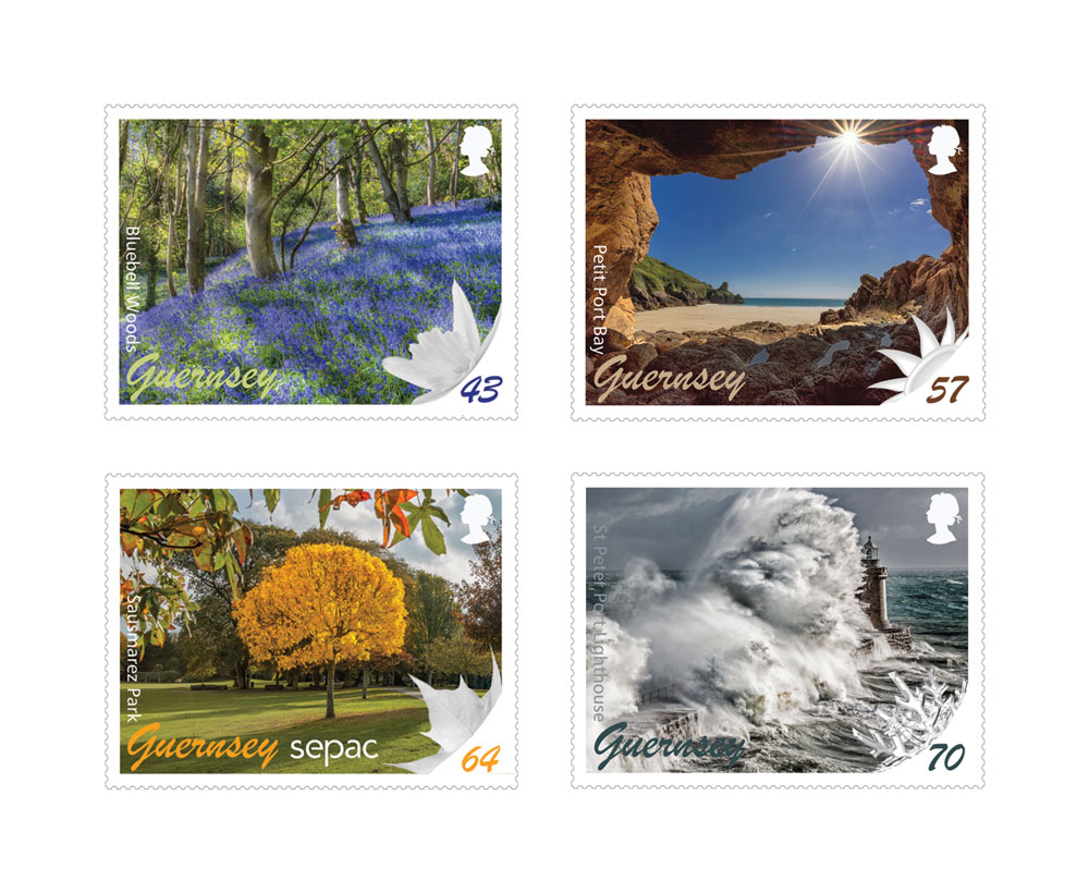 Guernsey Stamps embrace the Seasons