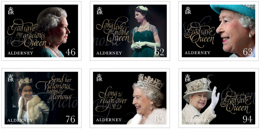 Guernsey to issue stamps to celebrate the 65th Anniversary of The Queen's Coronation