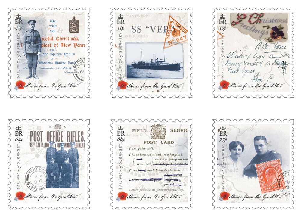 Guernsey Post issues World War 1 stamps