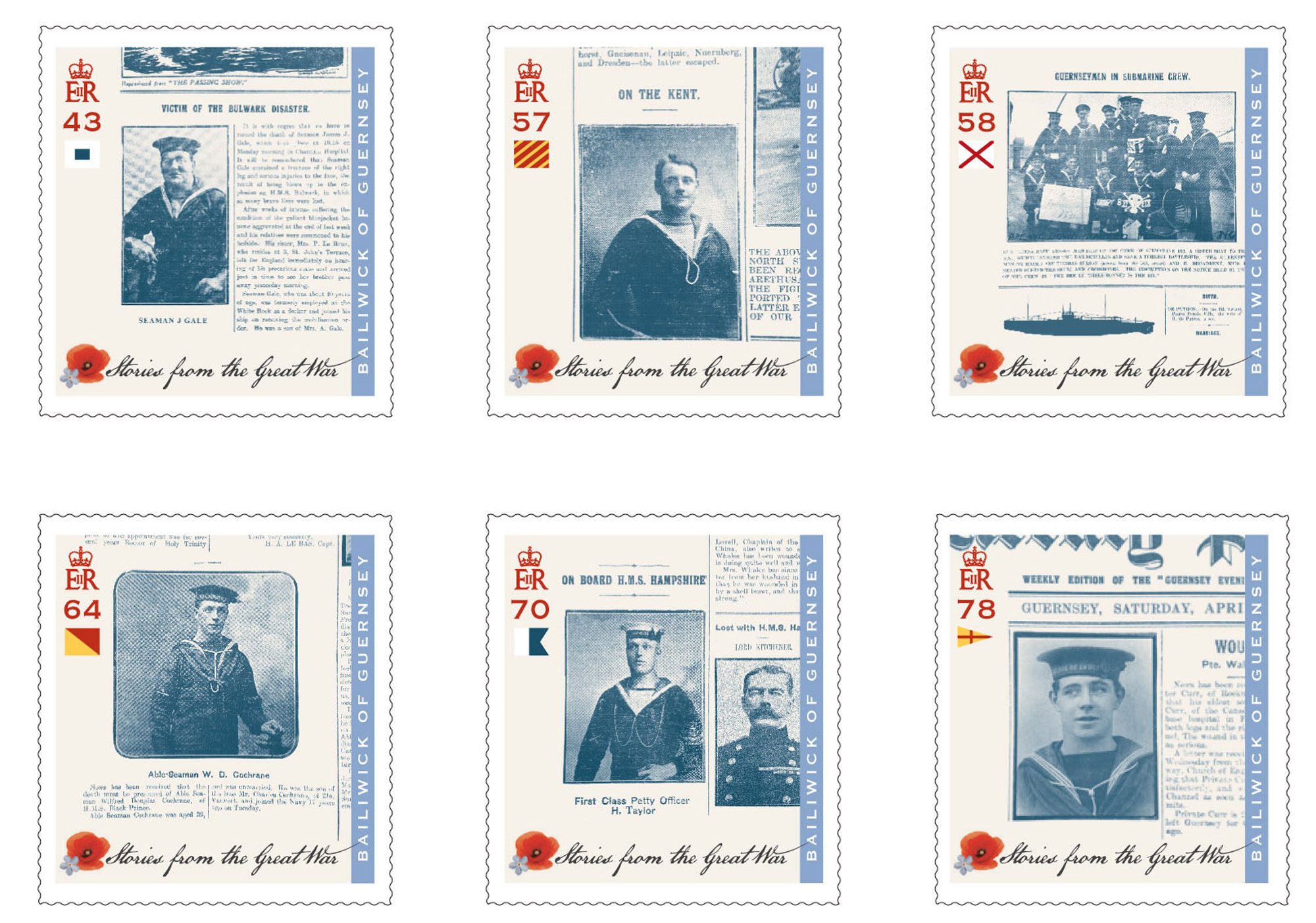 Guernsey Post issues third set of Great War Stamps