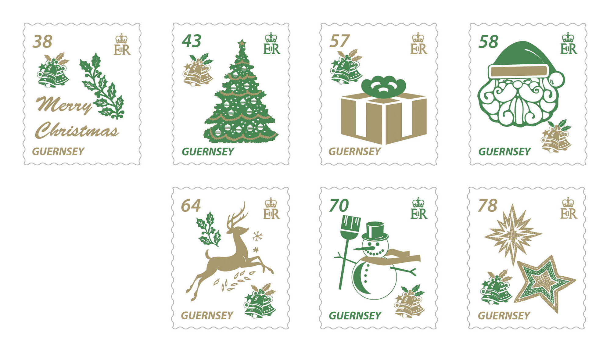 Guernsey and Alderney Stamps get festive